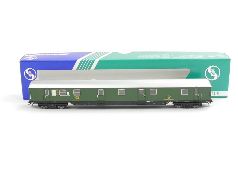 E332 Sachsenmodelle H0 74635 Personenwagen Bahnpostwagen 6001 DBP *unbespielt*