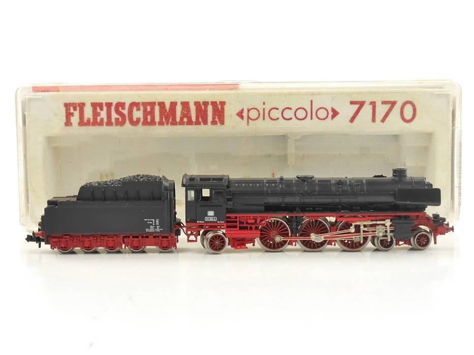 E307b Fleischmann N 7170 Dampflok Schlepptenderlok BR 011 066-8 DB