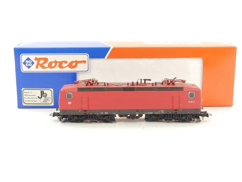 E163 Roco H0 43684 Elektrolok E-Lok BR 112 153-2 DB / DSS NEM