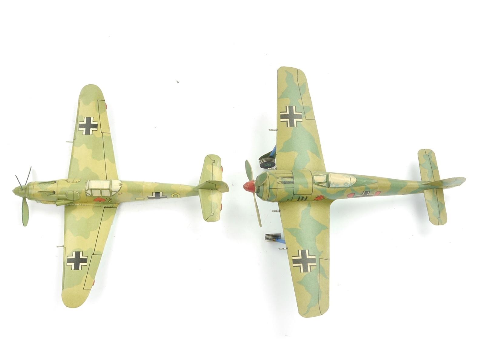 E62 Wilhelshavener Modell 2x Modellflugzeug Pappmodell Papiermodell Militär
