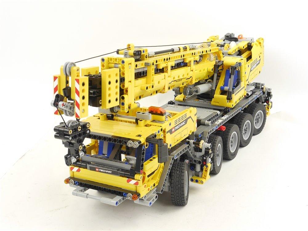 E293 LEGO Technic 42009 mobiler Schwerlastkran inkl. Anleitungen