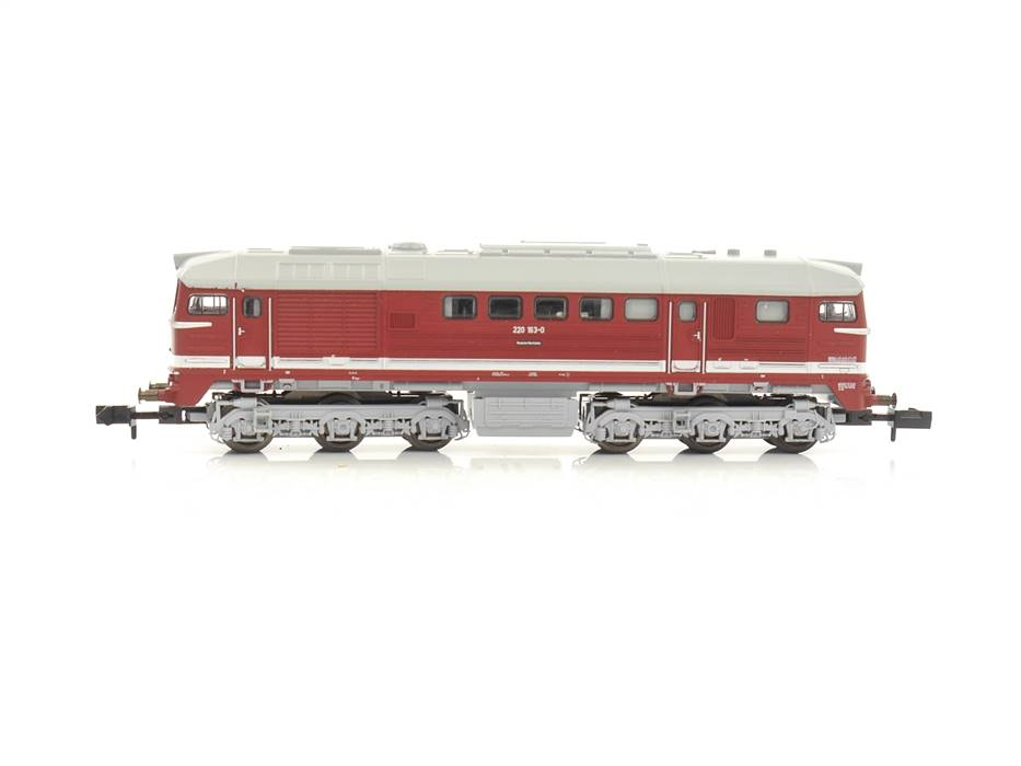 E320 Minitrix N 12877 Diesellok BR 220 163-0 DRG / DSS