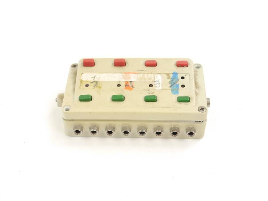 E334 Märklin 7271 Stellpult Schaltpult mit Rückmeldung / teildefekt *geprüft*