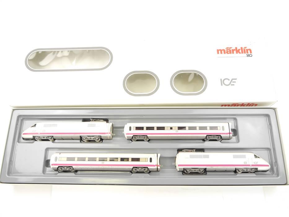 E161 Märklin H0 3371 Elektrotriebzug 4-tlg. ICE BR 410 / 810 DB