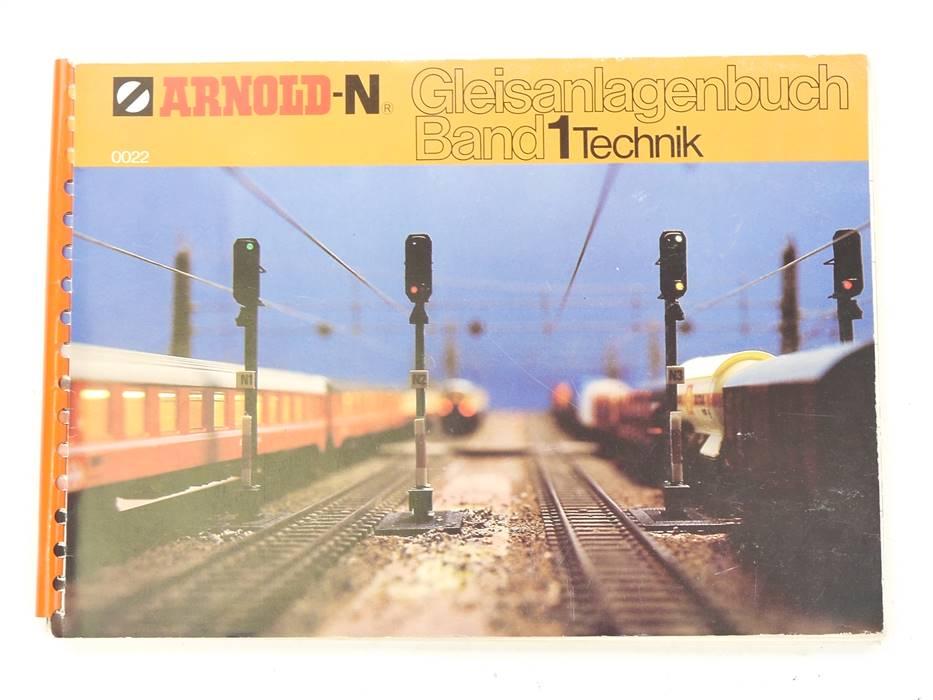 """E320 Arnold N 0022 Gleisanlagenbuch Band 1 """"Technik"""""""