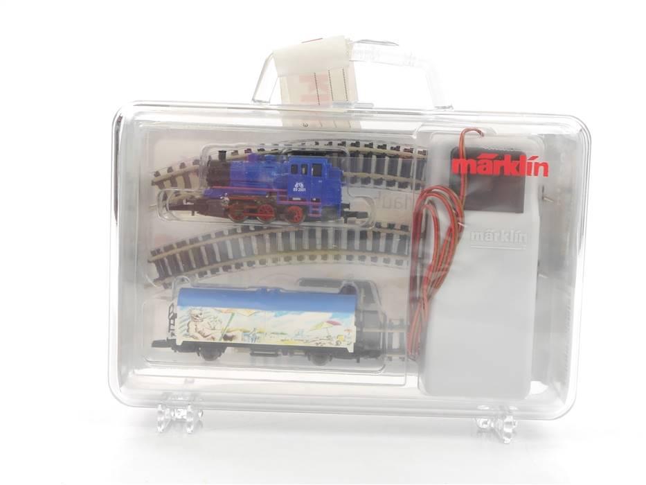 "E293 Märklin mini-club Z 81520 Startset ""Fun-Start-Set"" mit Dampflok BR 89 *NEU*"