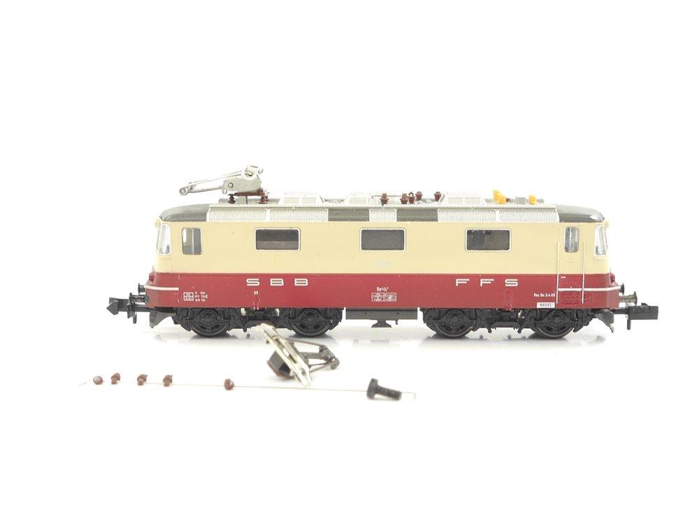 E270 Fleischmann N 7341 Elektrolok E-Lok Re 4/4 II BR 11158 SBB CFF