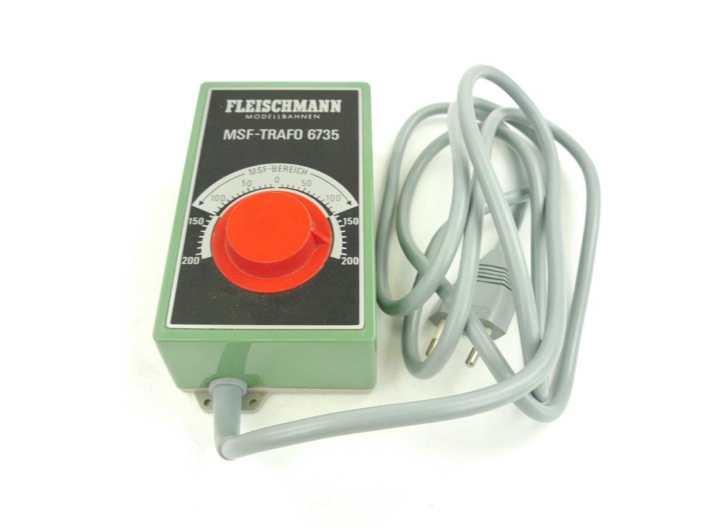 E169 Fleischmann 6735 MSF-Trafo Transformator 220 V / 7,5 VA geprüft *Note 2*