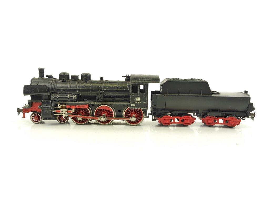 E261 Primex H0 3010 Dampflok mit Wannentender BR 38 1807 DB