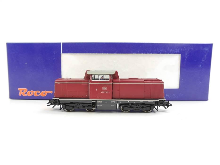 E332 Roco H0 63984 Diesellok BR V100 2023 DB / DSS NEM *TOP*