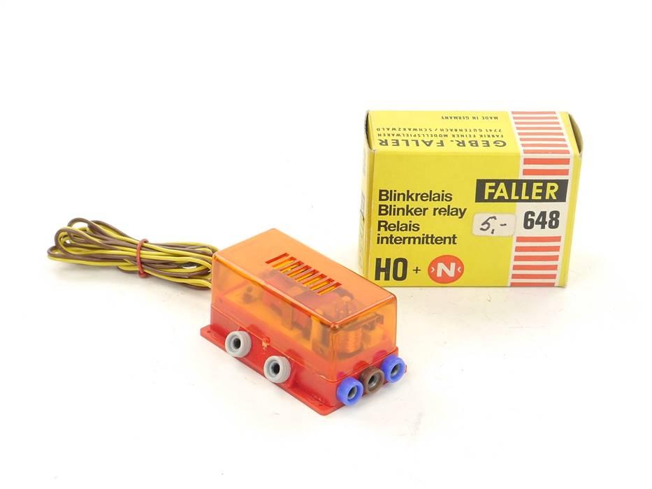 E169 Faller H0 N 648 Zubehör Blinkrelais für Bahnübergang