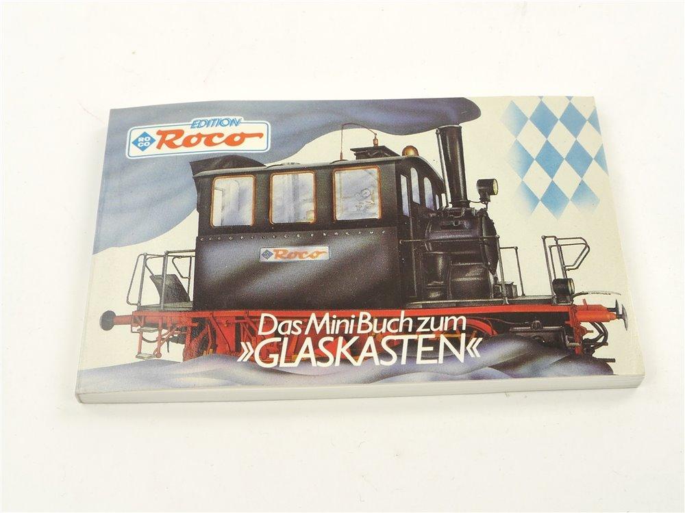 """E262 Roco Buch """"Das Mini Buch zurm Glaskasten"""