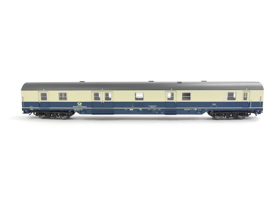 E332 Sachsenmodelle H0 14694 Personenwagen Postwagen 33 045-8 DBP *unbespielt*