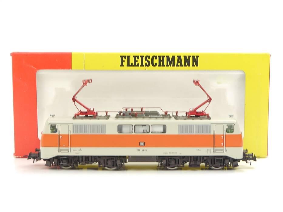 E322 Fleischmann H0 4349 Elektrolok E-Lok S-Bahn BR 111 188-9 DB / NEM Digital