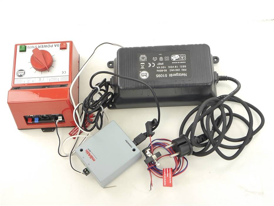 E293 LGB Märklin 60130 51070 51095 Trafo Netzteil Converter *geprüft*