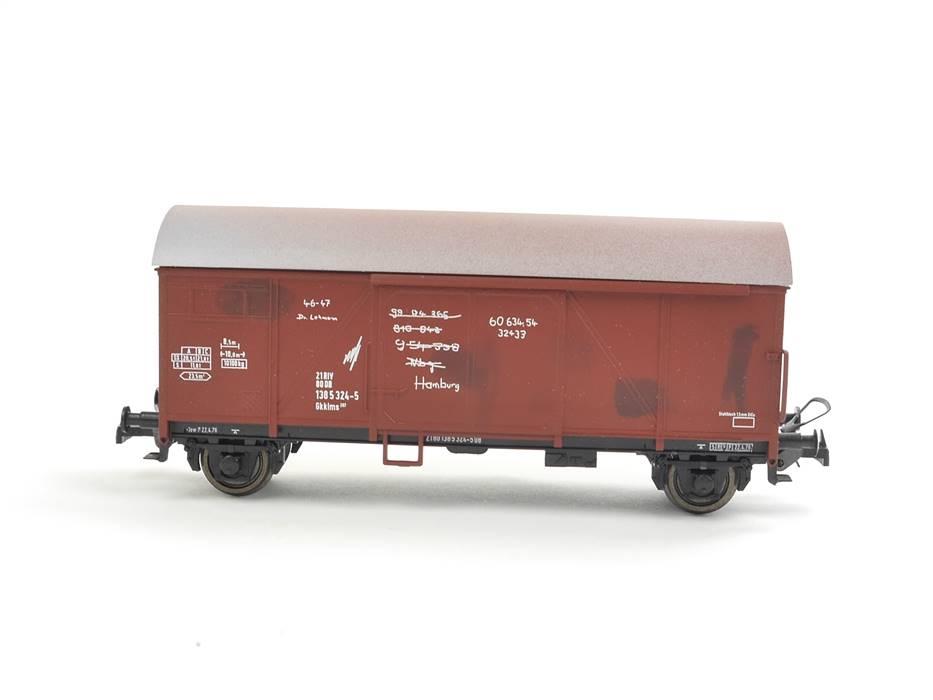 E332 Sachsenmodelle H0 14003 Güterwagen Paketwagen Bremen 138 5 324-5 DB *TOP*