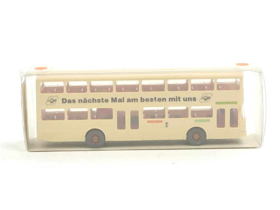 "E169 Wiking H0 24 730 Modellauto Bus MAN SD 200 ""BVG Berlin"" 1:87 *TOP*"