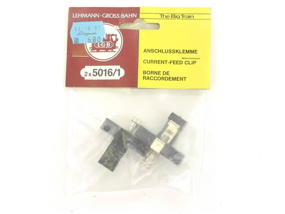 E128 LGB Spur G 5016/1 2x Anschlussklemme Gleisanschluss *NEU*