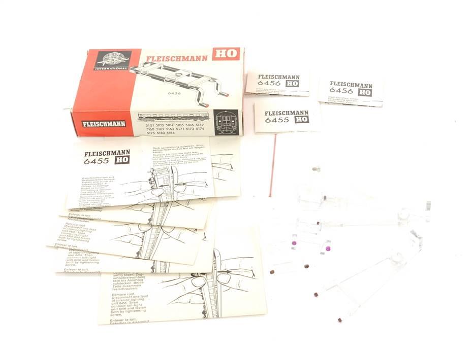 E169 Fleischmann H0 6456 4x Zubehör Lichtleiter für Zugschlussbeleuchtung