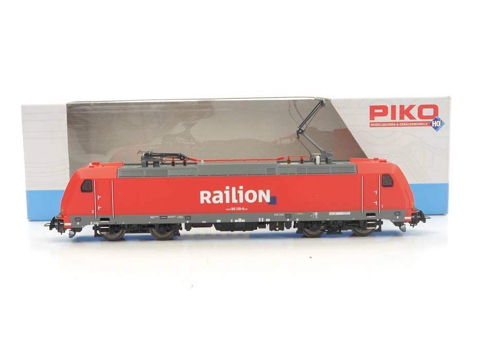 E313 Piko H0 59540 Elektrolok E-Lok BR 185 226-8 Railion / NEM DSS