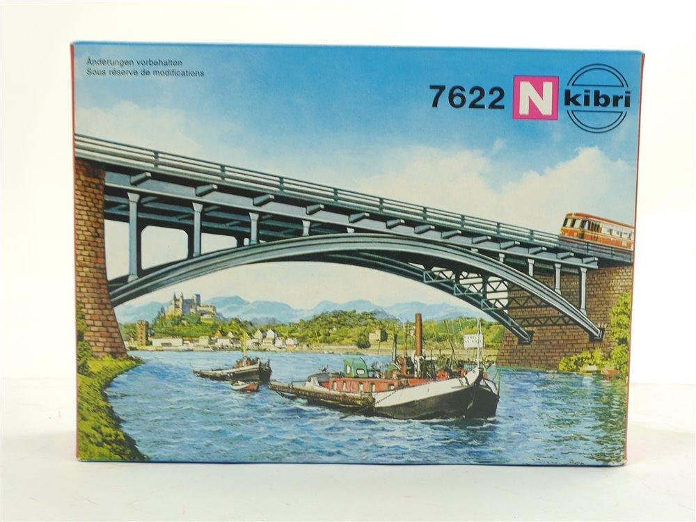 E258 Kibri N 7622 Brücke Bausatz Bogenbrücke *NEU*
