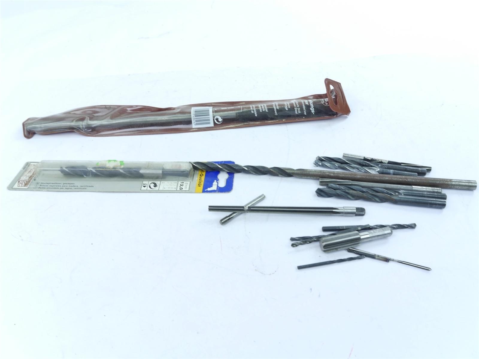 E122 Lux kwb u.a. - Werkzeug Bohrer Spiralbohrer Schalungsbohrer Konvolut
