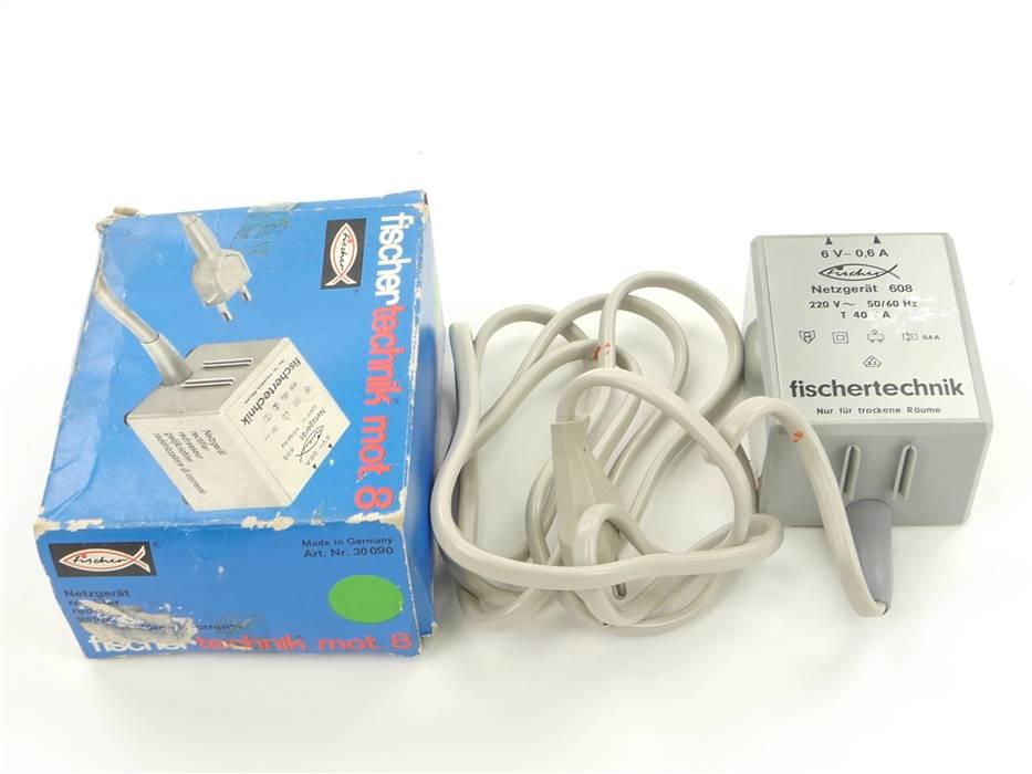 E301b Fischertechnik 608 Netzgerät 220 V *geprüft*