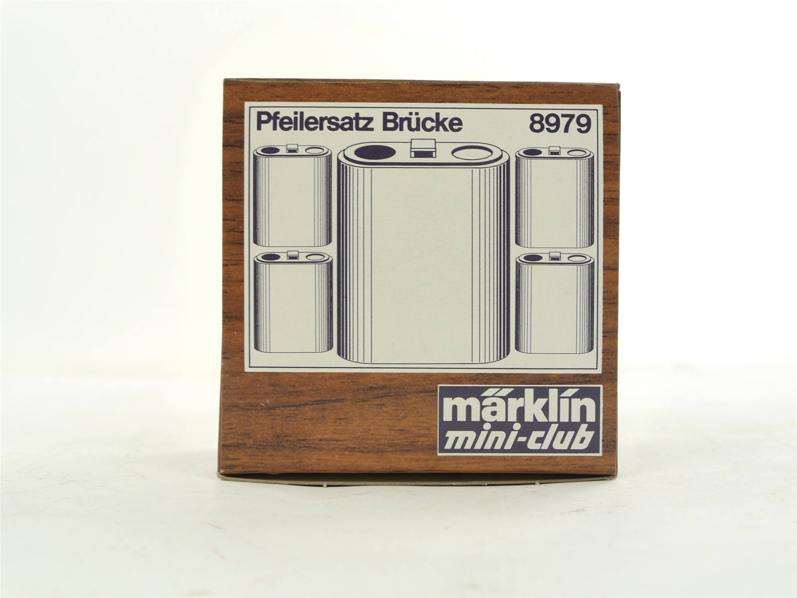 E227 Märklin mini-club Spur Z 8979 5x Brückenpfeiler Pfeiler / 40 mm *WIE NEU*