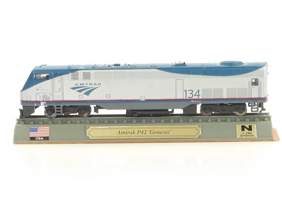 "E296 Del Prado N Standmodell Diesellok Amtrak P42 ""Genesis"" USA"