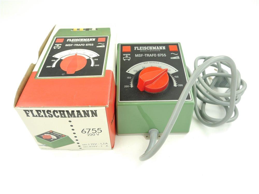 E169 Fleischmann 6755 MSF-Trafo Transformator 230 V / 17 VA geprüft *Note 2-3*
