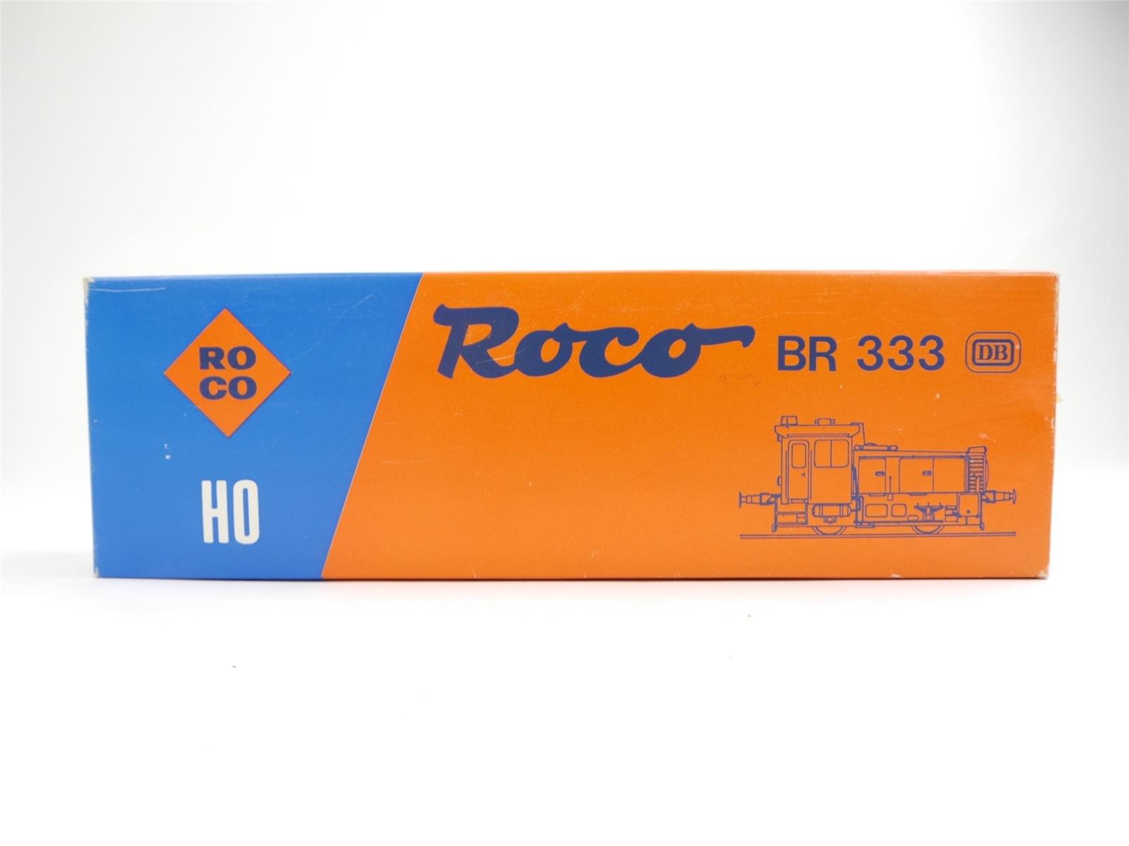 E77 Roco H0 04163A Leerverpackung Leerkarton OVP für Diesellok BR 333 DB