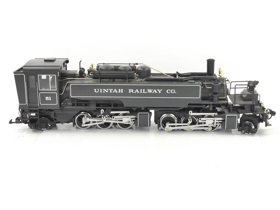 E293 LGB Spur G 20882 Dampflok Mallet Nr. 51 Uintah Railway Co. / Rauch Sound