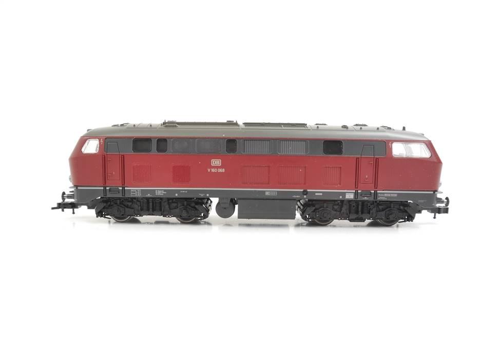 E322 Fleischmann H0 4232 Diesellok BR V160 068 DB / DSS Digital NEM