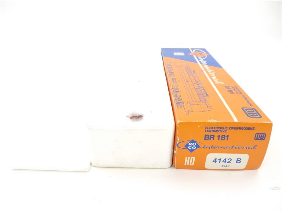 E169 Roco H0 4142B Leerverpackung Leerkarton OVP für Elektrolok BR181 DB
