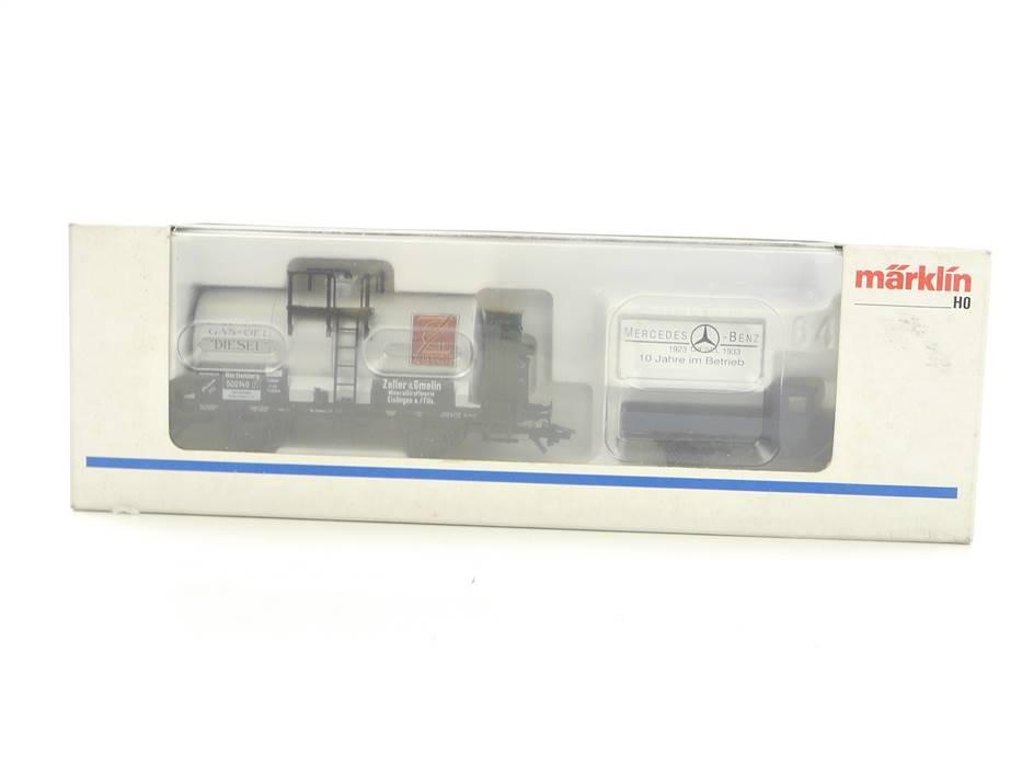 """E324 Märklin H0 84792 Wagenset 2-tlg. Museumswagen 1992 """"Zeller & Gmelin"""" / NEM"""