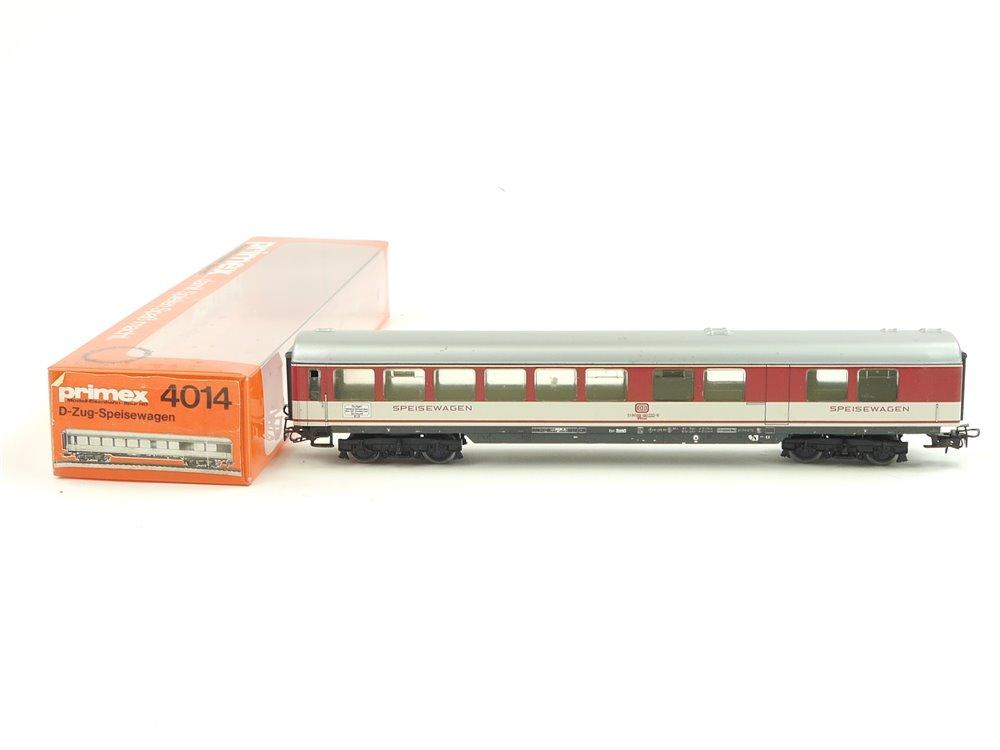 E272 Märklin Primex H0 4014 Personenwagen D-Zug Speisewagen DB / Blech