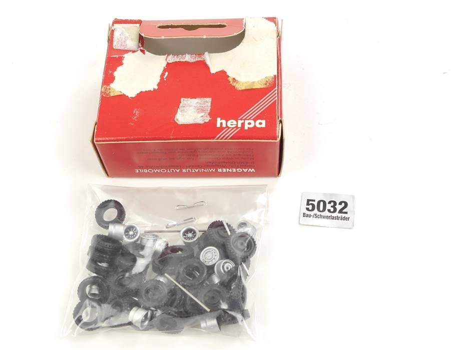 E169 Herpa H0 5032 Zubehör Bau und Schwerlasträder