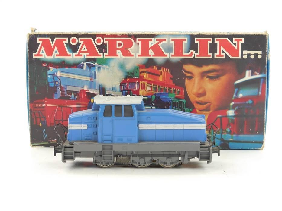 E163 Märklin H0 3078 Diesellok Werkslok Henschel DHG 500 blau