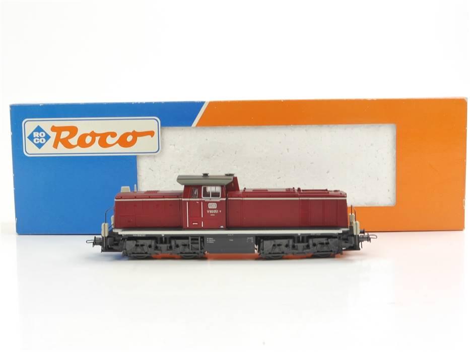 E332 Roco H0 43666 Diesellok BR V90 051 DB *TOP*
