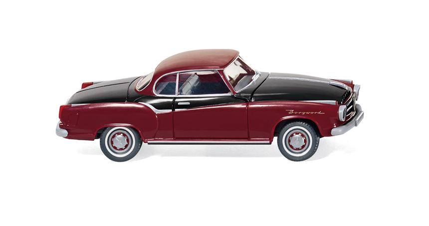 E323 Wiking H0 0823 24 Modellauto Borgward Isabella Coupé *NEU*
