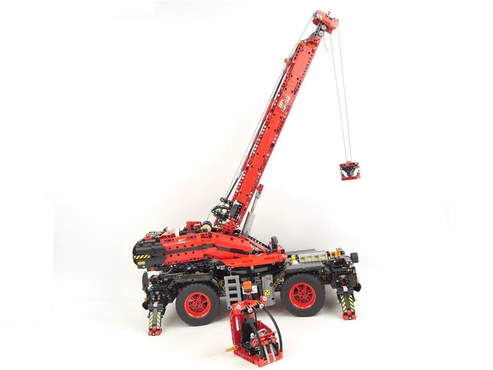 E293 LEGO Technic 42082 Geländegängiger Kranwagen 2 in 1 Power Functions