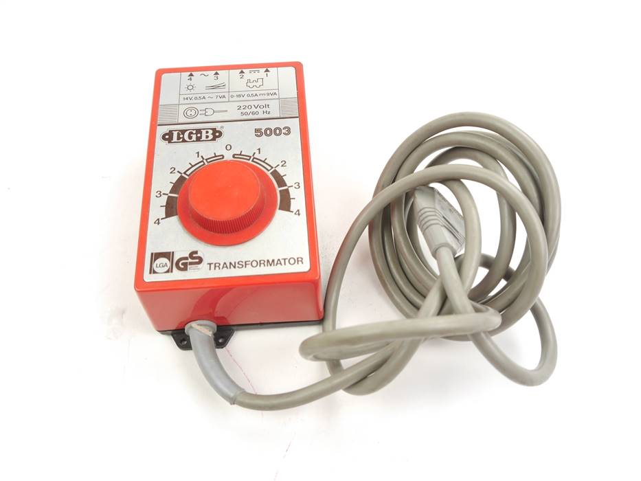 E331 LGB 5003 Trafo Transformator 220 V / 9 VA *geprüft*