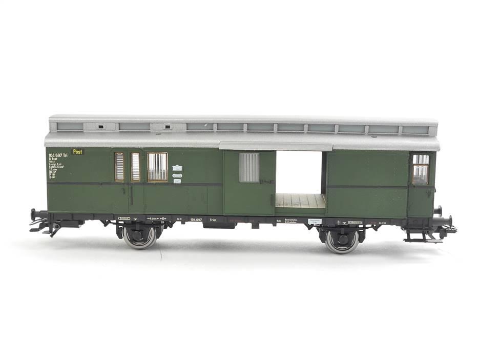 E332 Sachsenmodelle H0 74698 Güterwagen Packwagen Postwagen / NEM *unbespielt*