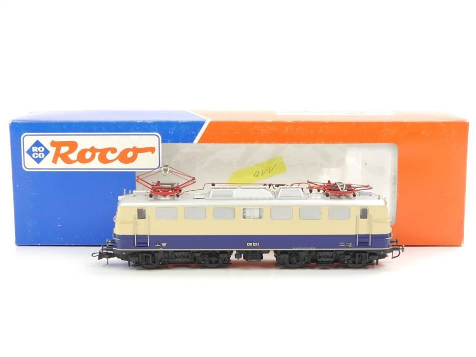 E337 Roco H0 43381 Elektrolok E-Lok BR E10 1241 DB / Sound NEM DSS DCC Digital