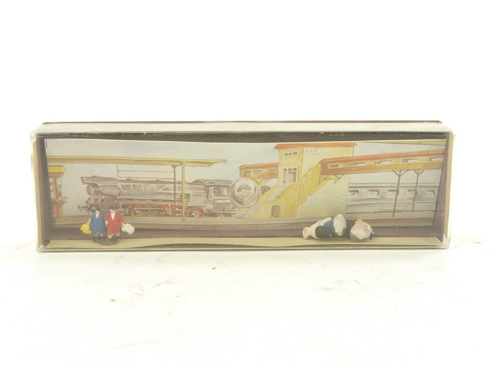 E257 Merten N 2400 Figuren-Set 3-tlg. Korpulente Passanten (Gruppen) *TOP*