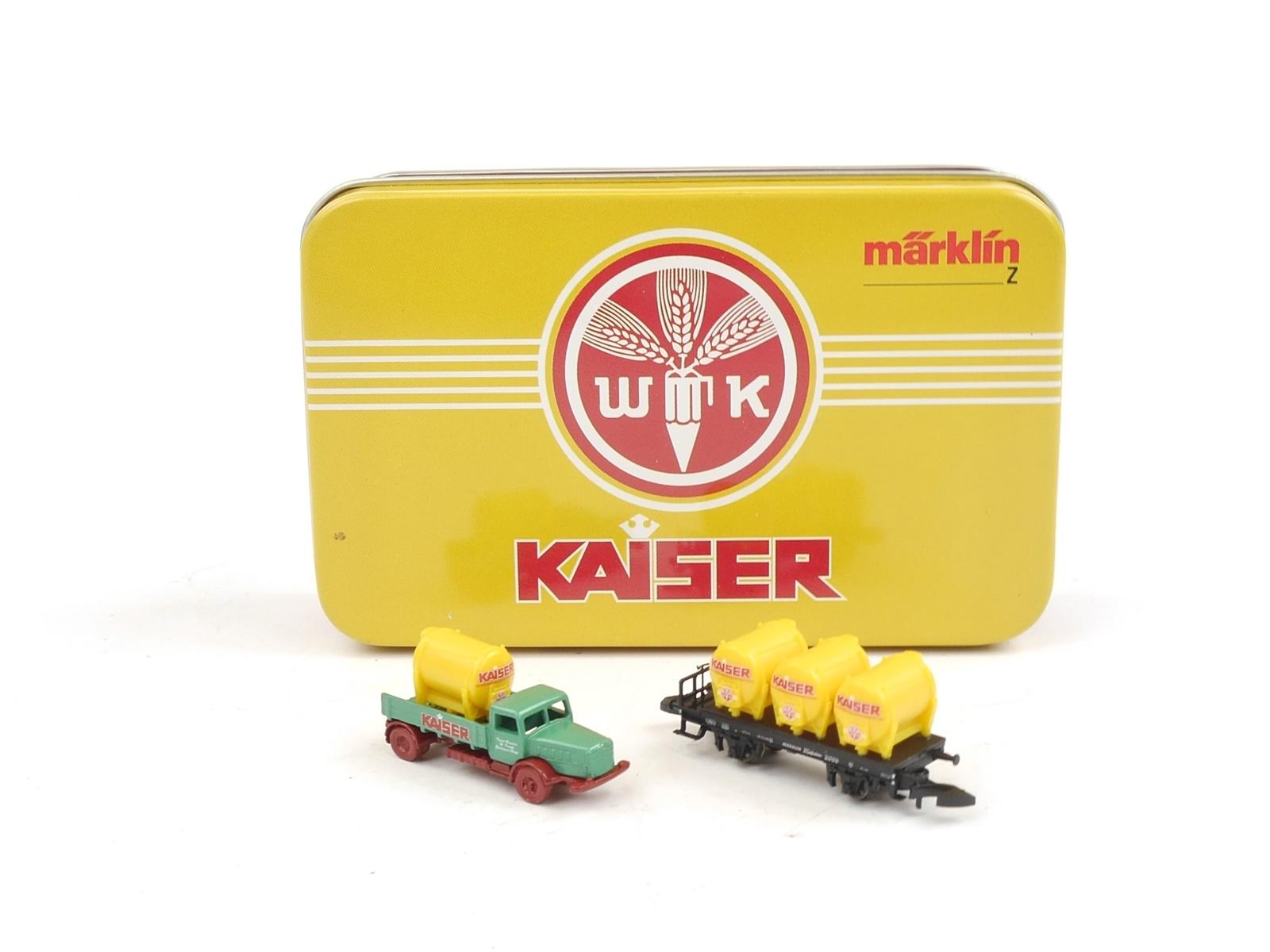 E216 Märklin miniclub Spur Z Güterwagen Kaiser / Museumswagen 2006 *TOP*