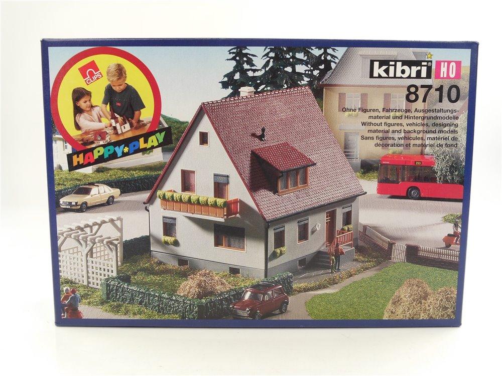 E145 Kibri H0 8710 Gebäude Bausatz Einfamilienhaus Lindenstraße *NEU*