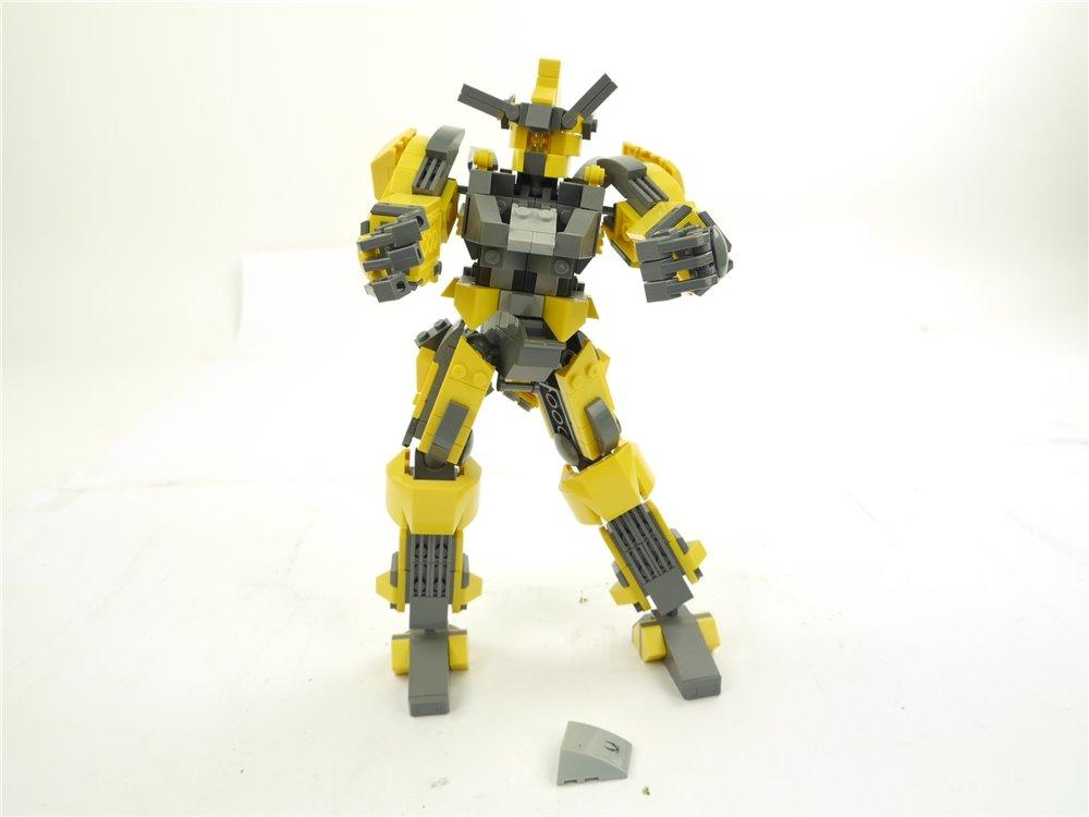E255 Klemmbaustein Roboter Transformer