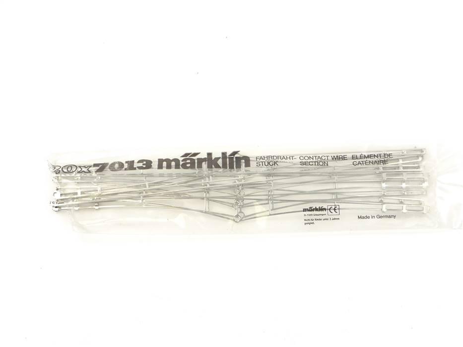 E125 Märklin H0 7013 10x Zubehör Fahrdraht / 240 mm *TOP*