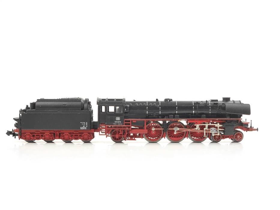E330 Minitrix N 12611 Dampflok Schlepptenderlok BR 03 1073 DB